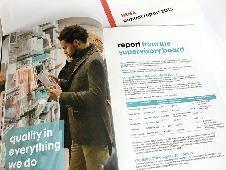 HEMA annual report jaarverslag jaarcijfers key figures presentatie