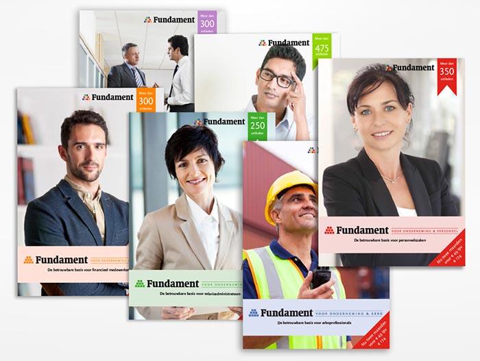 Rendement brochures boekhouden vormgeving grafisch ontwerp opmaak HR financiën