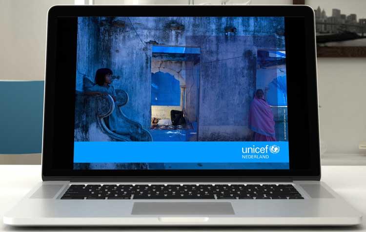Unicel presentatie powerpoint template